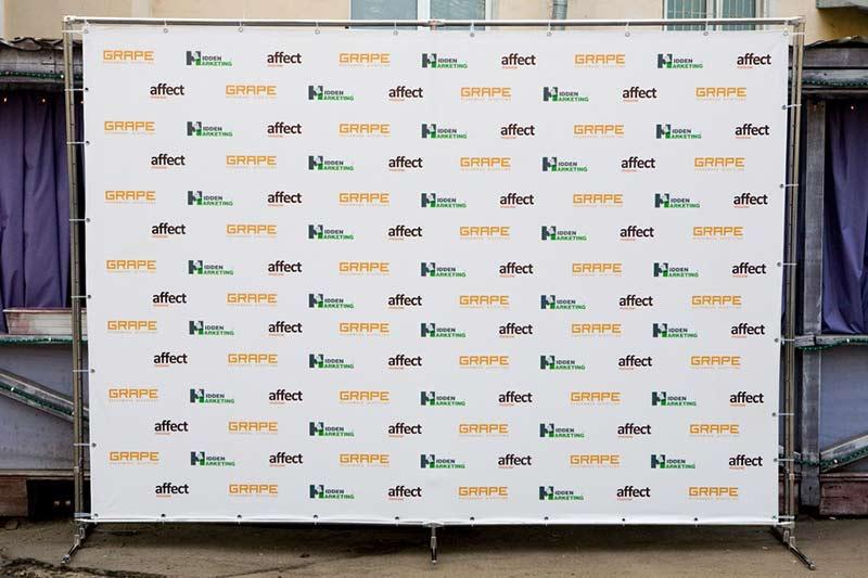 Press-Wall на выставку
