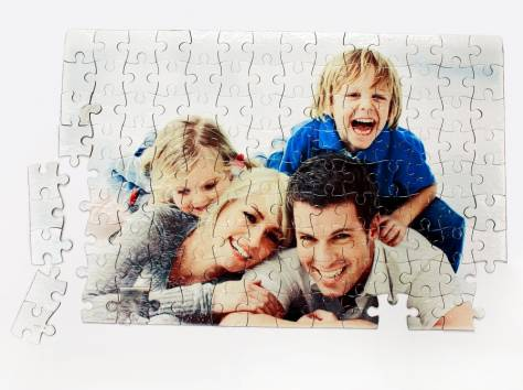 Фотопазл семейный