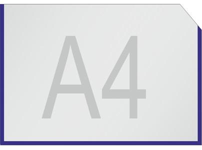 А4 горизонтальный кармашек
