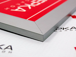 20 мм алюминеевая рамка для таблички
